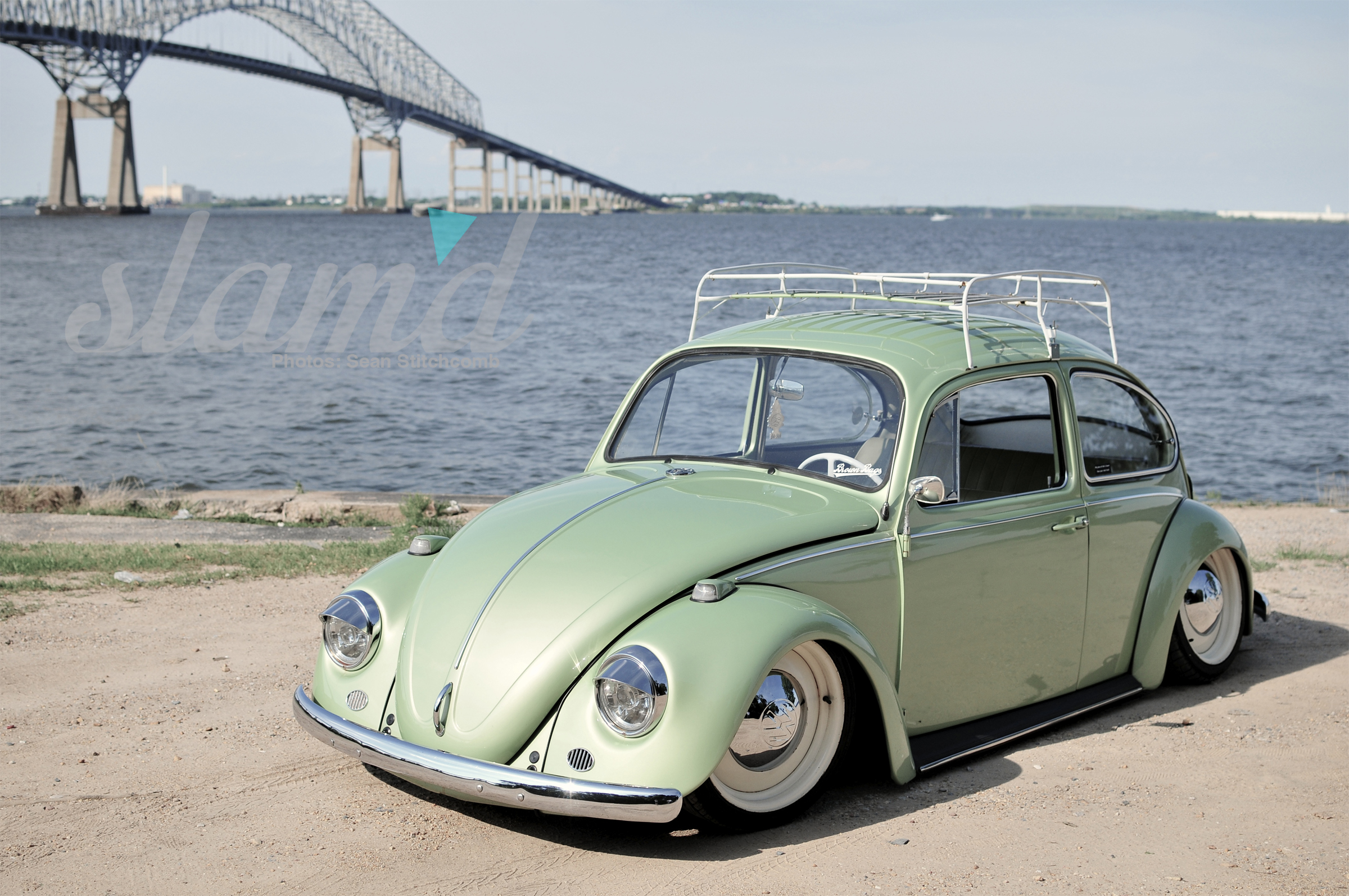 Slammed vw bug new