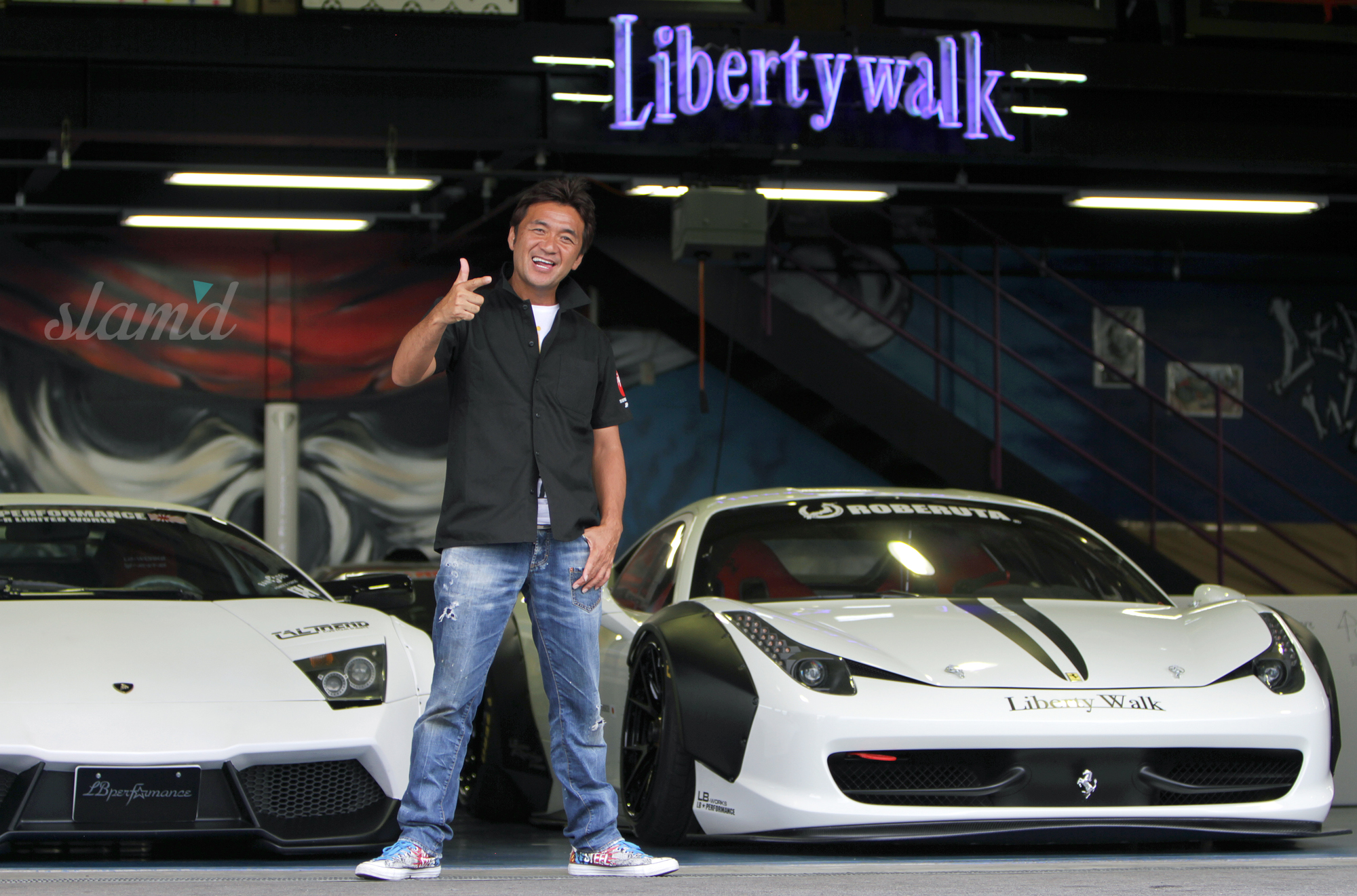 Wide, Low & Loud – Liberty Walk Japan – Slam'd Mag