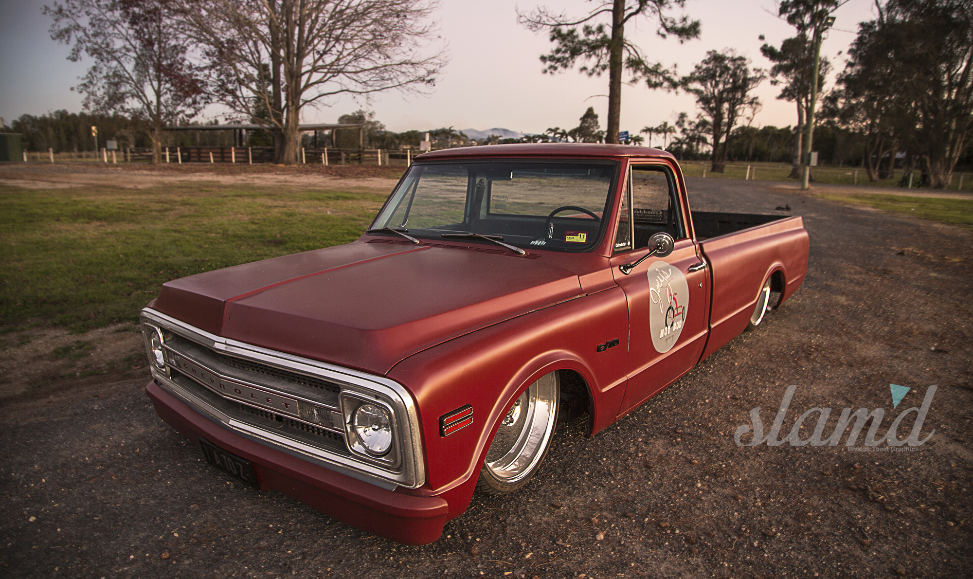 Forbidden C 10 Dave S 1969 Chevy Turns Heads Slam D Mag