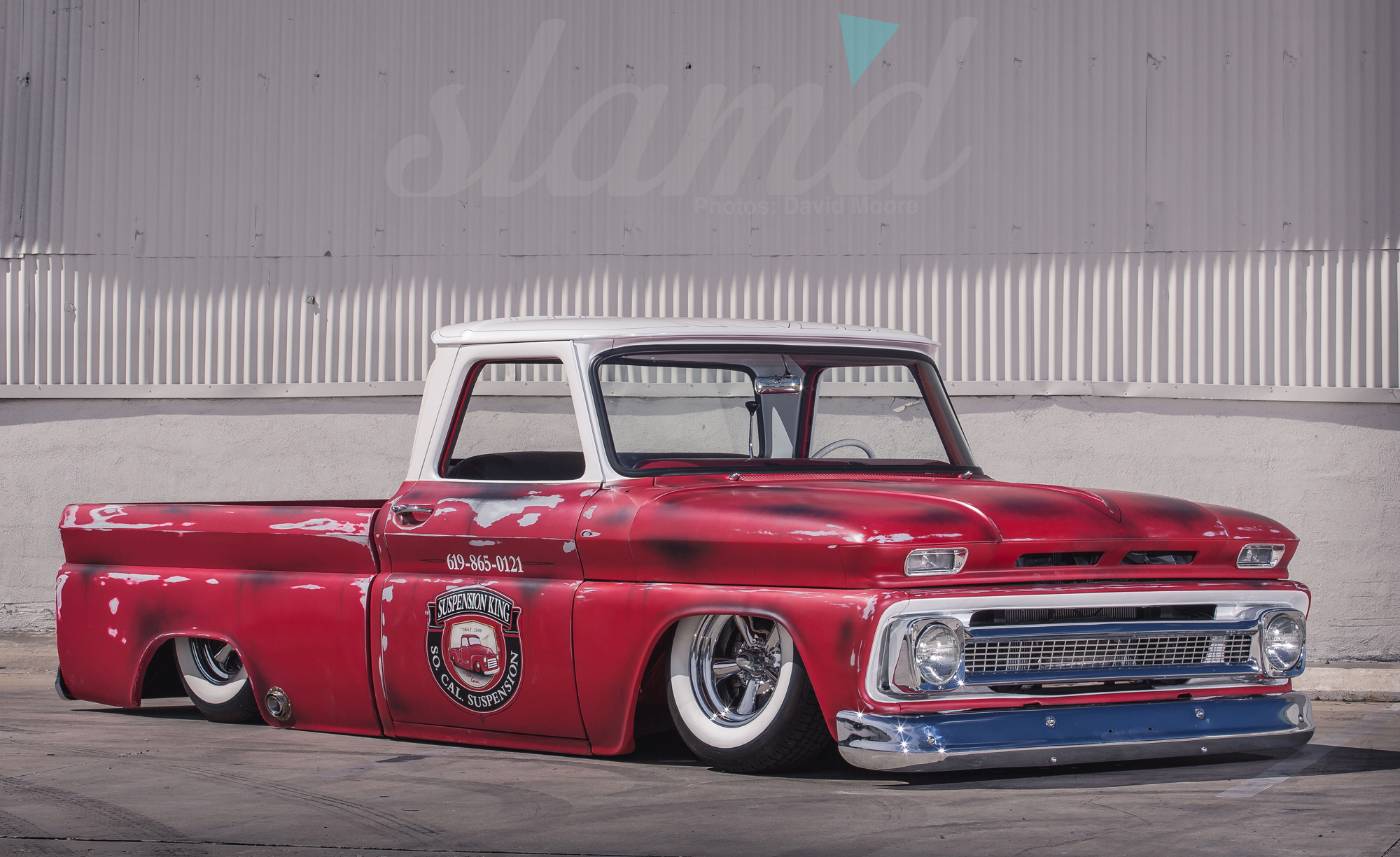 The Shop Truck Socal Suspension S 1966 C10 Slam D Mag