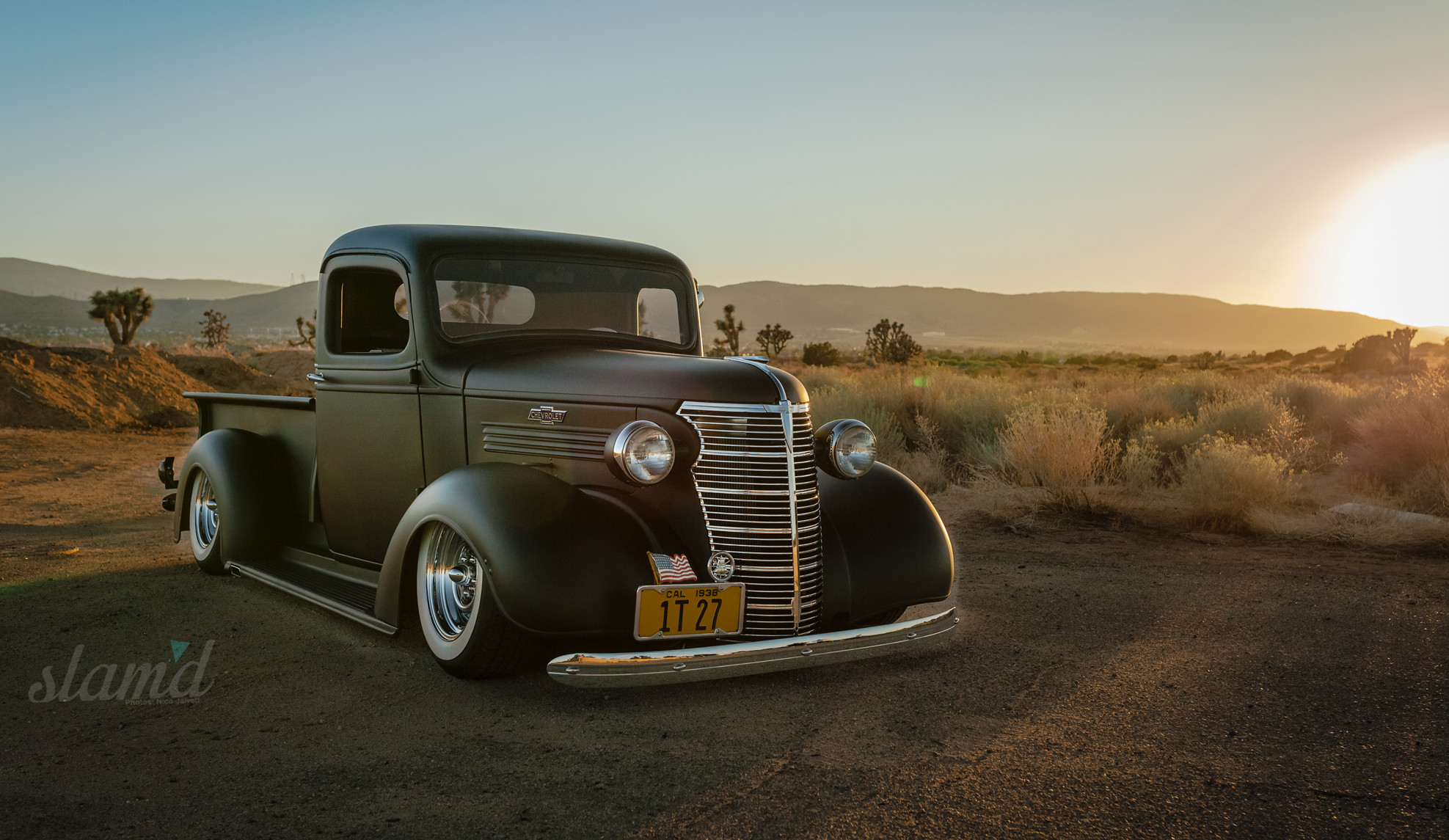 Enjoy The Build Monty Rubart S 1938 Chevy Pickup Slam D Mag