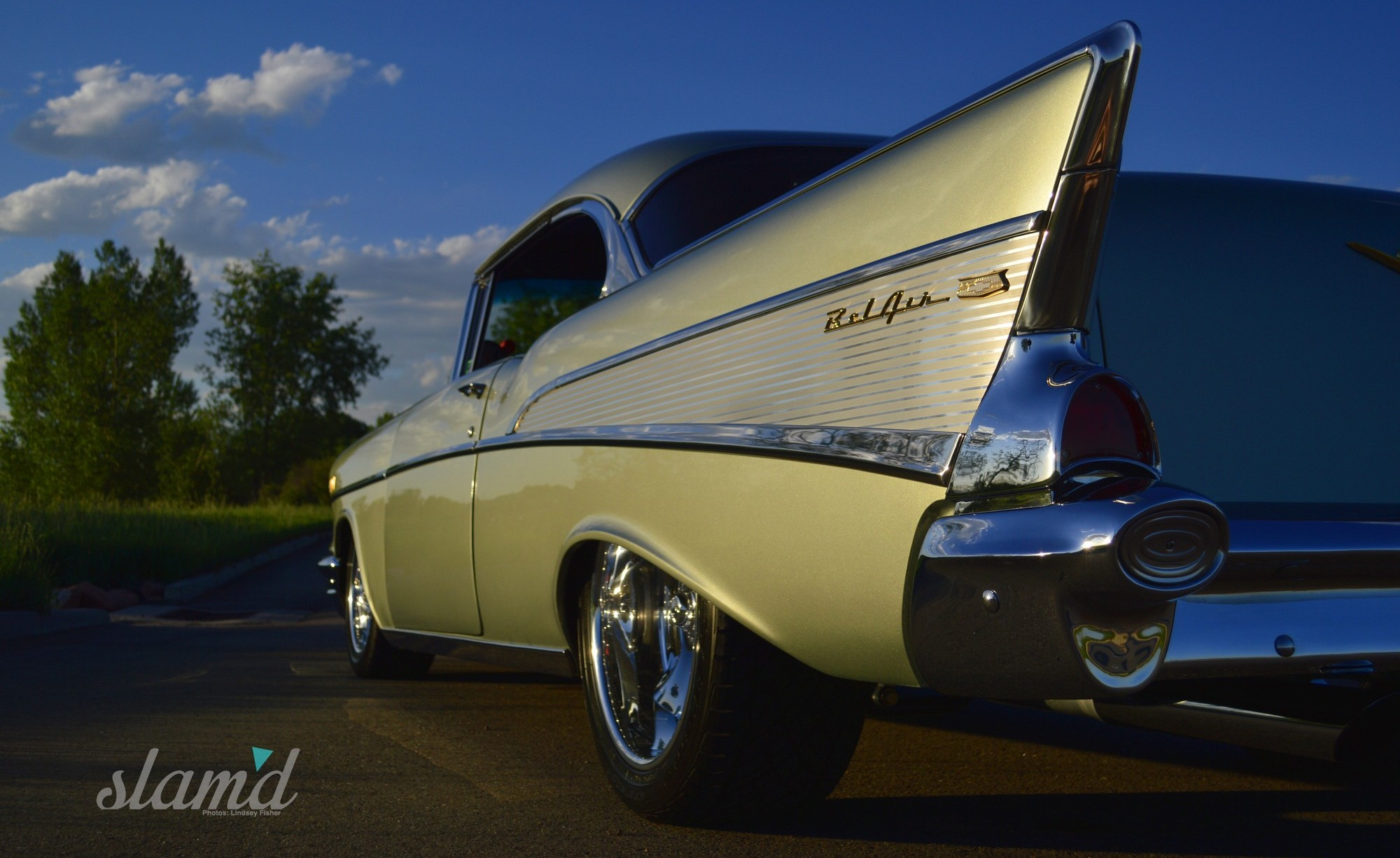 First Car Dreams Marvin Meyers 1957 Bel Air 2 Door Hardtop Slam Chevy 4 Thats Because His This Now Custom Meant Being Further Launched Into An Automotive Passion That Started Early On And