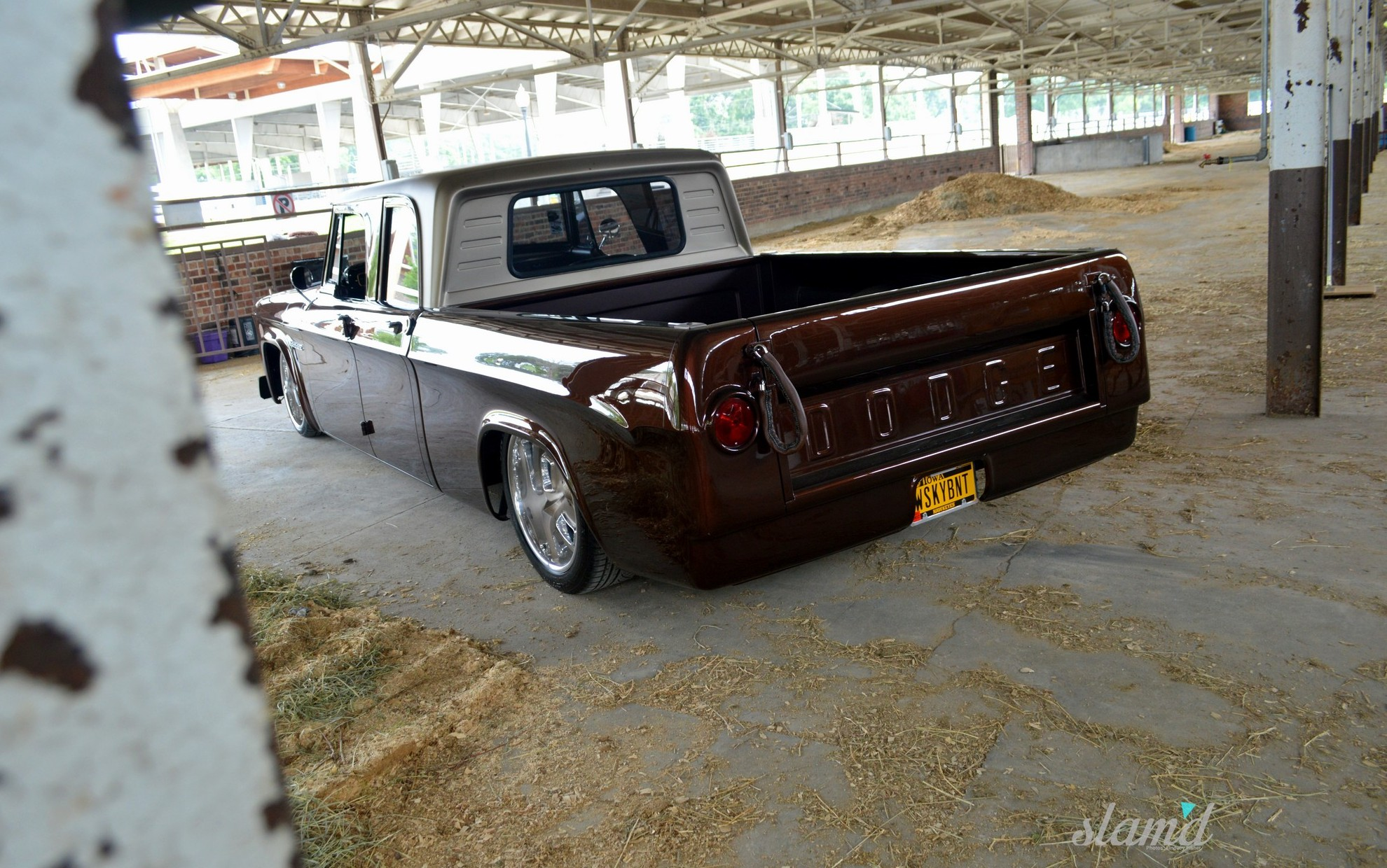 Whiskey Bent: Tim Molzen's 1962 Dodge Sweptline Crew Cab – Slam'd