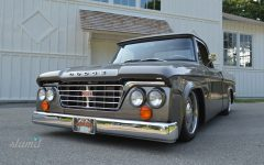 Kirby Wilcox's 1965 Dodge D-100 Short Box Sweptline Pickup