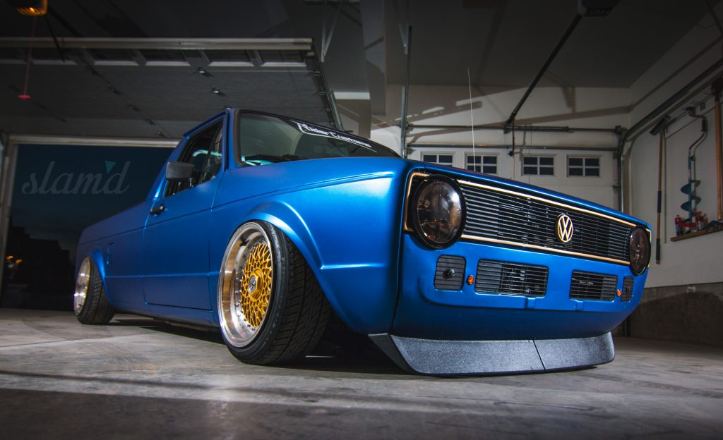 Vw Jetta Truck >> Built To Drive: The Dub Dynasty 1981 VW Caddy – Slam'd Mag