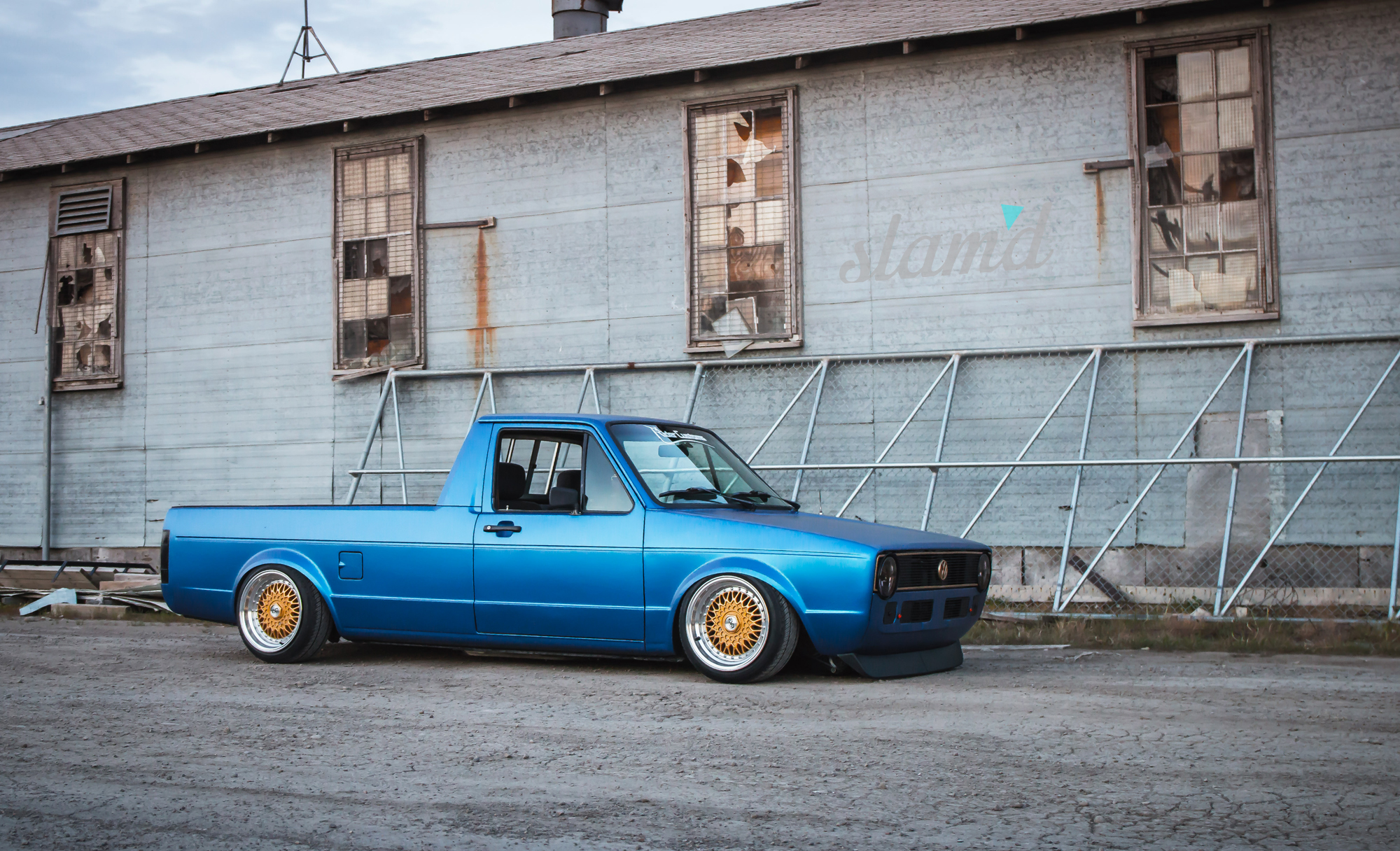built to drive the dub dynasty 1981 vw caddy slam 39 d mag. Black Bedroom Furniture Sets. Home Design Ideas