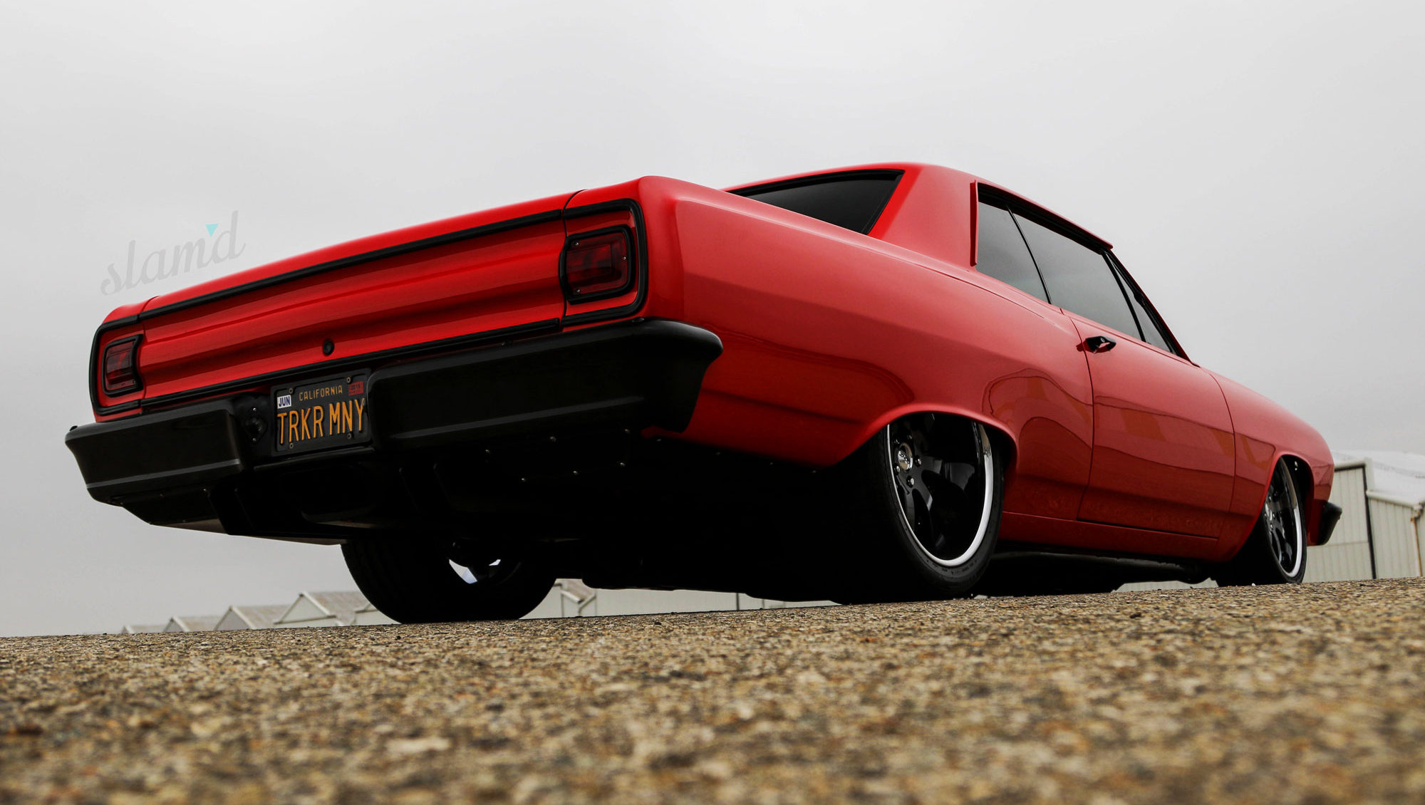 Lady In Red: John's Boggio's Seductive 1965 Chevelle – Slam'd Mag