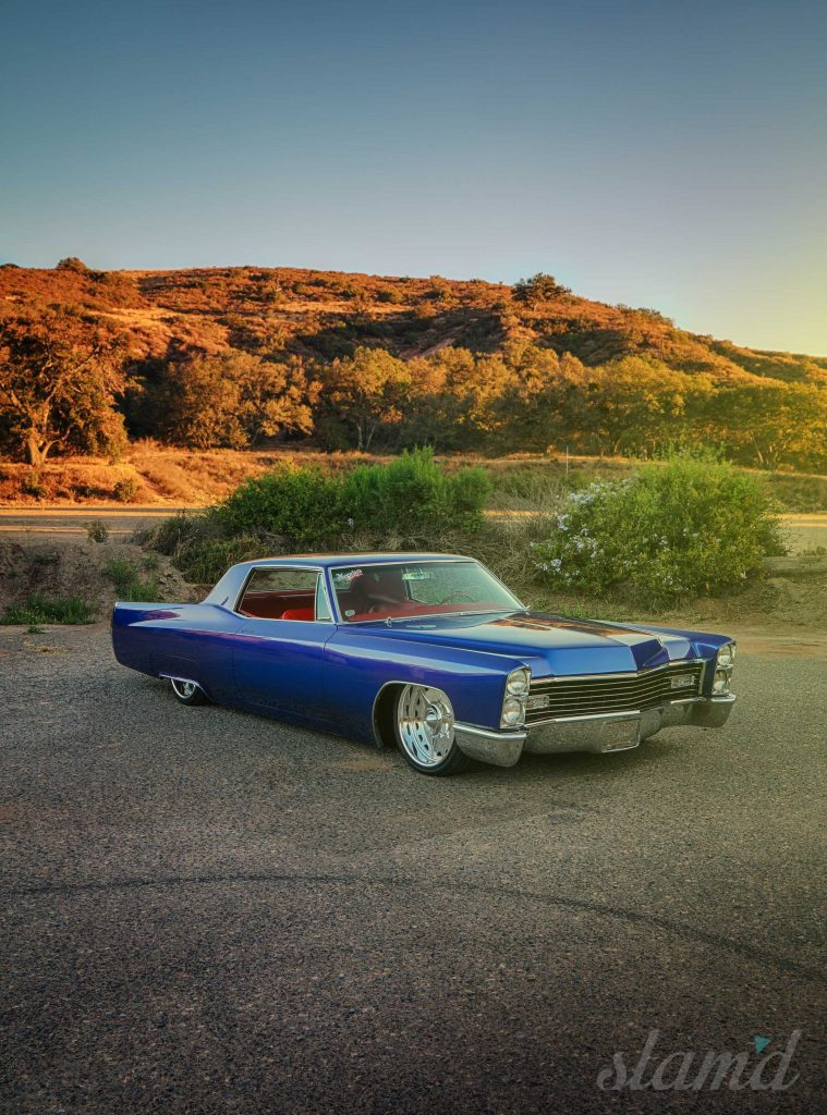 Sinister Coupe Deville The Abate S 1967 Cadillac Slam D Mag
