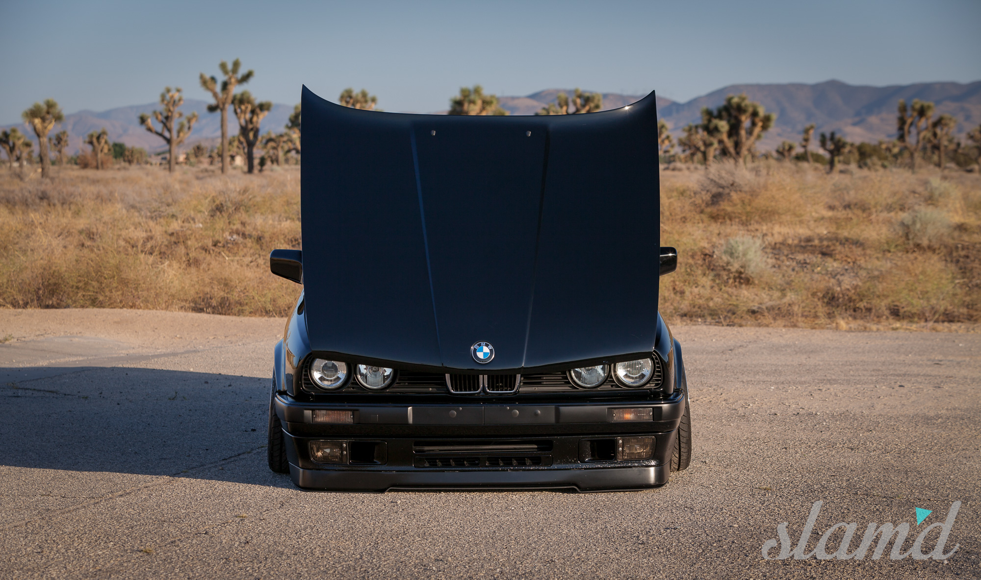 Evening Light Abraham Cruz 1989 Bmw E30 Slamd Mag 325i Start Up Check Out The Full Gallery Here